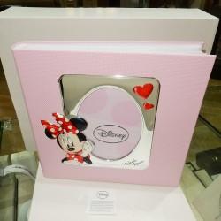 Album foto cm32xcm32 Disney bimba MINNIE MOUSE laminata argento925%