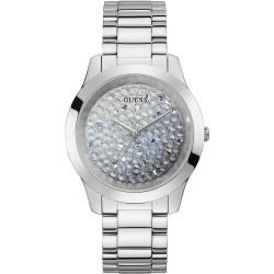Guess Orologio Solotempo Donna acciaio lucido SWAROVSKI cristalli Ref. GW0020L1