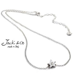 Collana girocollo pendente diamante e Argento Jack&co Dream JCN0501