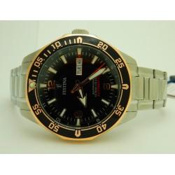 Festina SAPPHIRE F20478-6 Orologio Automatico Quadrante Nero Maschile