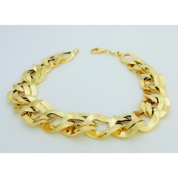 Bracciale donna Oro giallo 18kt massiccio modello catena